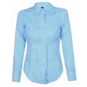 WOVEN LADIES SHIRT LONG SLEEVE